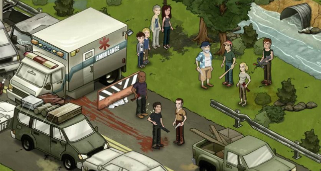 IM726: The Walking Dead Social Game