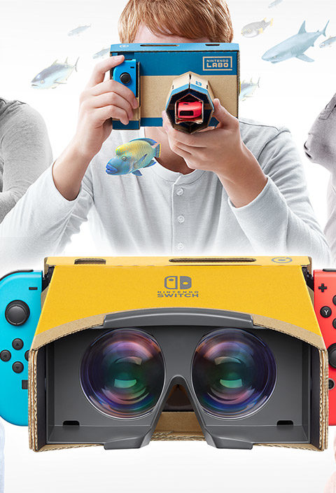 Kann Switch VR? Bastelstunde mit Nintendo Labo (VR Kit)