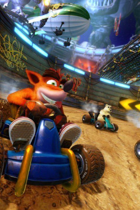 Putsch-Versuch: Stößt »Crash Team Racing« Mario vom Siegerpodest? (Folge der Woche)