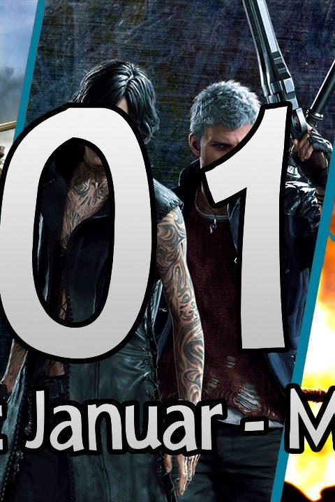 Der große Jahresrückblick 2019 – Die wichtigsten Spiele von Januar-März