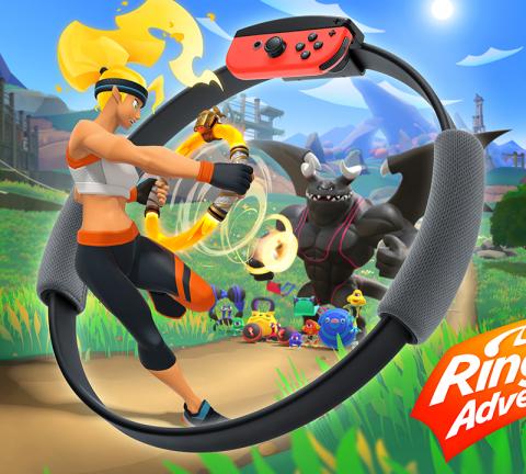 Ring Fit Adventure: Rollenspiel mit Schwitzfaktor