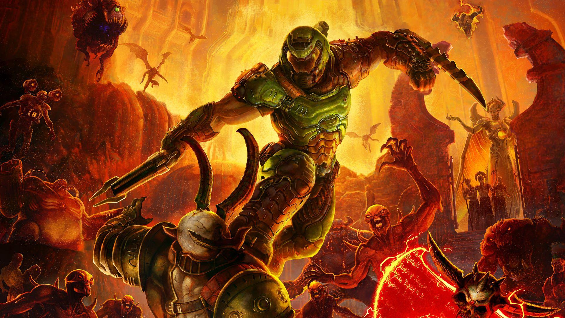 Doom Eternal – Mit Blut, Gitarren und Akrobatik gegen das Böse