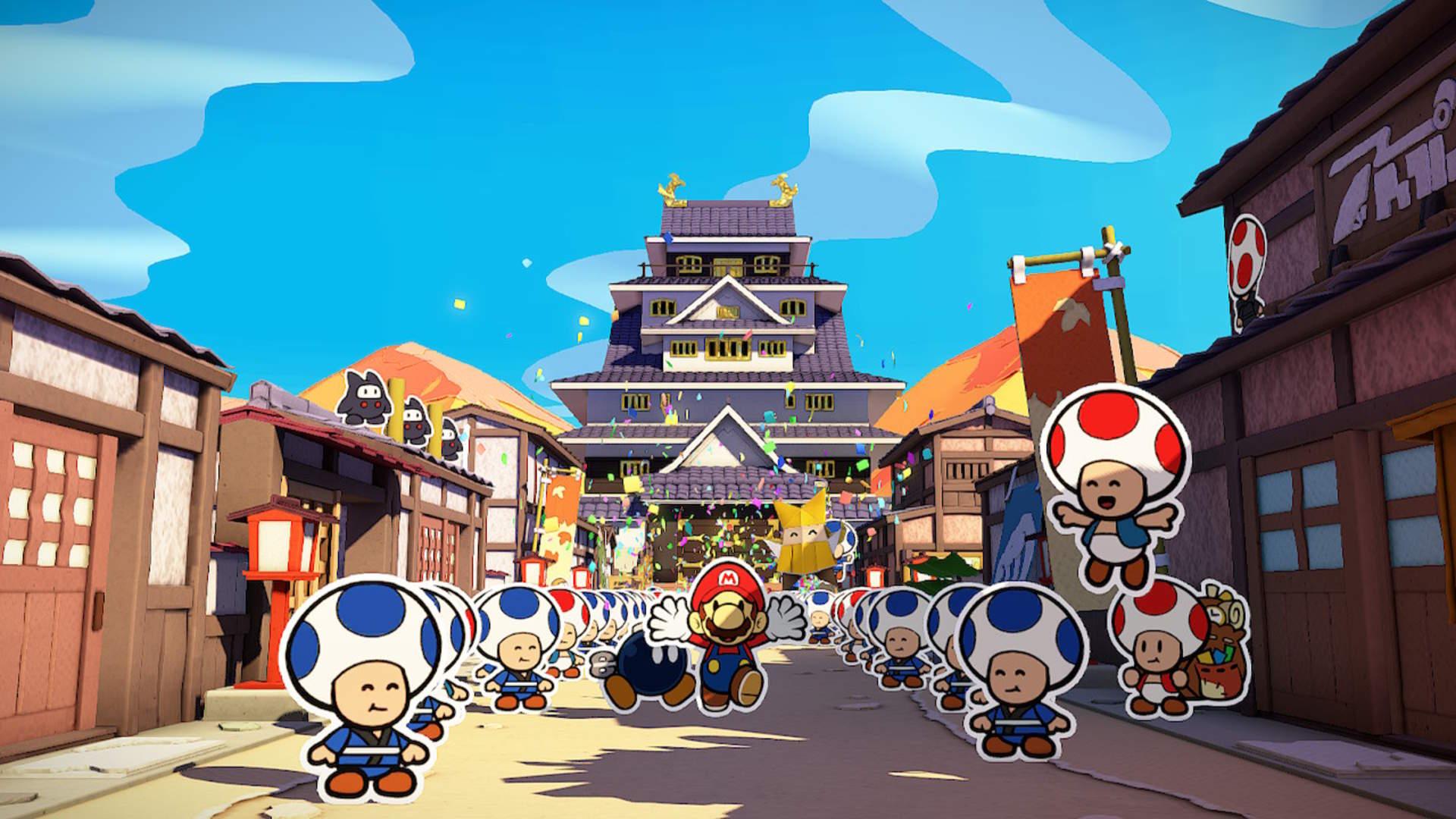Paper Mario: The Origami King: Kampfsystem ohne Entfaltungsmöglichkeit
