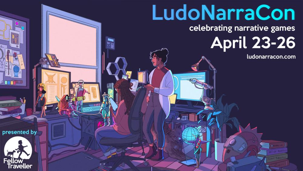 LudoNarraCon 2021: Fazit zur Konferenz mit Spieleindrücken