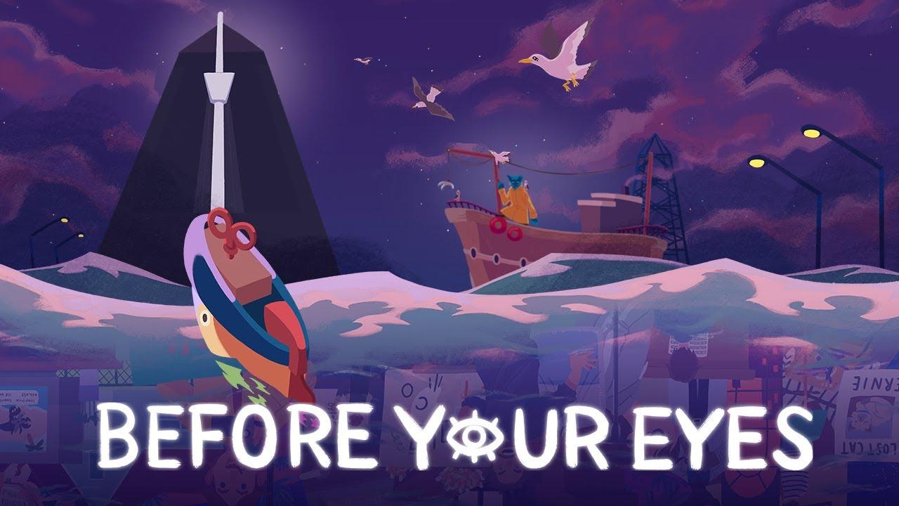 Before Your Eyes: Berührendes Story-Experiment mit Blinzelsteuerung